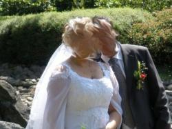 suknia ślubna roz 44-46 175 wzr