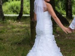 Suknia ślubna roz M