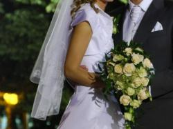 Suknia ślubna rozm. 34/36 + GRATIS bolerko