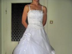 suknia ślubna rozm.36/38 cena 850zł
