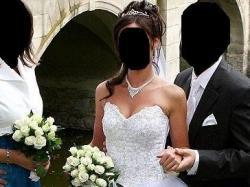 Suknia ślubna, rozm. 36-38 typu księżniczka, kolor biały