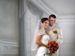 Suknia ślubna rozm.36-38 wzrost 158