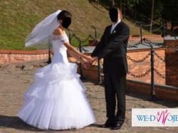 Suknia ślubna rozm.36 jak nowa