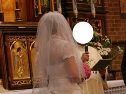 Suknia ślubna rozm. 38-42