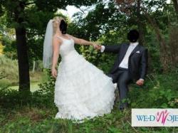 suknia ślubna rozm. 38-42 MARII KARIN - OBAMA