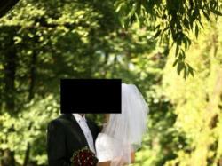 Suknia ślubna rozm. 38 do wyboru dwa gorsety + dodatki