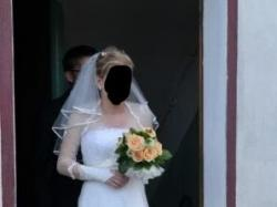 Suknia ślubna rozm.38 + dodatki!!