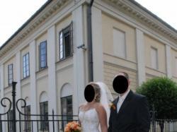 Suknia ślubna rozm.38 + dodatki - WYJĄTKOWA