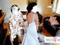 Suknia ślubna,rozm.40