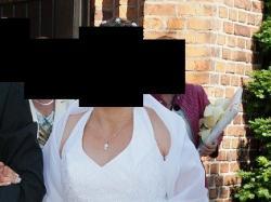Suknia ślubna rozm.40-42 super cena + gratisy
