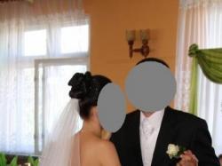 Suknia ślubna rozmiar 34/36 z bolerkiem