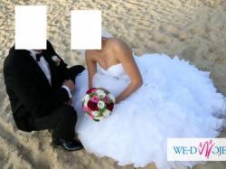 Suknia ślubna -rozmiar 36-38