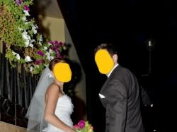 suknia ślubna, rozmiar 36/38,  wiązany gorset