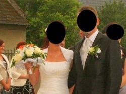 Suknia ślubna rozmiar 36 GRATISY CZYSZCZONA