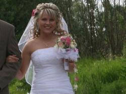 Suknia ślubna rozmiar 36, katalog Agnes 2008. biała