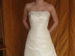 Suknia ślubna, rozmiar 36 (S), Ecru