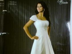 """Suknia ślubna rozmiar 38-40 biała, """"józefinka"""""""