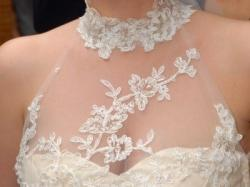 Suknia ślubna, rozmiar 38, cappucino