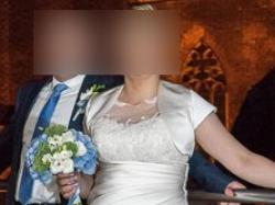 Suknia ślubna rozmiar 44 do 46