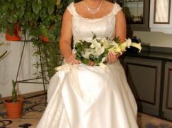 suknia ślubna rozmiar 48