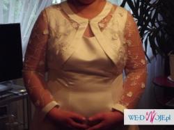 Suknia ślubna rozmiar 48 z kolekcji Madame Zaręba