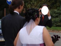 suknia ślubna rozmiar 50/52
