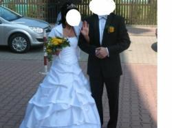 suknia ślubna ruda śląska śliczna