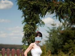 suknia ślubna - rybka