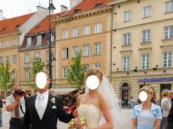 Suknia ślubna  salon Carmen Warszawa