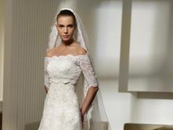 Suknia ślubna San Partick-polka
