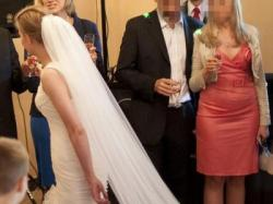 Suknia ślubna San Patrick Edimburgo + welon