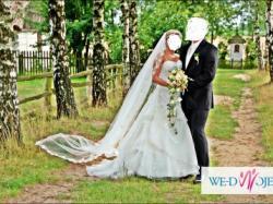 Suknią ślubna san patrick paladium 2009