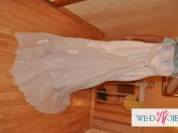 Suknia ślubna San Patrick White One r.36/38 w.178 cm NOSZONA 2h