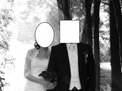 Suknia Ślubna SARAH 2929 + Bolerko