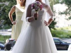 Suknia ślubna Secret Angel Madonna tiul satyna