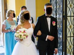 Suknia Ślubna ,,SIENNA '' Biała