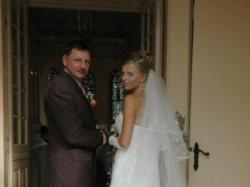 Suknia ślubna Sincerity 3143, Gratis welon+dodatki+kamizelka dla Pana Młodego