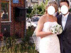 Suknia ślubna Sincerity 3143, rozm. 12, 170 cm