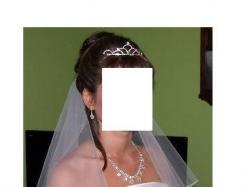 Suknia ślubna Sincerity 3330 + dodatki GRATIS!!
