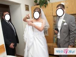 Suknia ślubna SINCERITY 3330 -- o k a z j a !!!