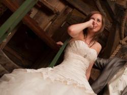 Suknia ślubna Sincerity 34 36 ecru wartość 3700zł!