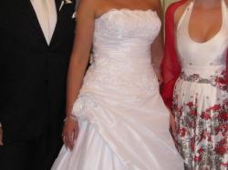 Suknia Ślubna Sincerity 3461 , biała