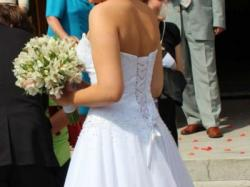 Suknia ślubna Sincerity 3621 + GRATISY !