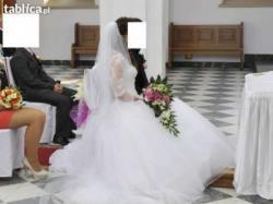 Suknia ślubna Sincerity 3656 - księżniczka - stan idealny