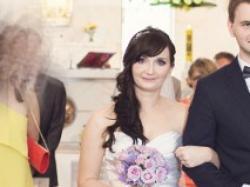 Suknia ślubna Sincerity 3666 r 38 biała syrenka stan idealny