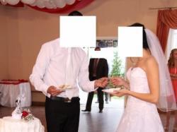 Suknia ślubna Sincerity 3771 Biała Rozmiar S (38) Mielec 1200,00 zł