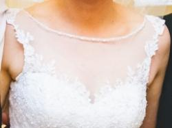 Suknia ślubna Sincerity 3822 + welon