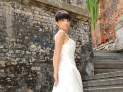 Suknia  slubna Sincerity 4504 rozm.34