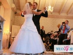 Suknia ślubna Sincerity Bridal 3234 z dodatkami
