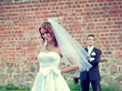 Suknia ślubna Sincerity Bridal 3619, roz 36-38